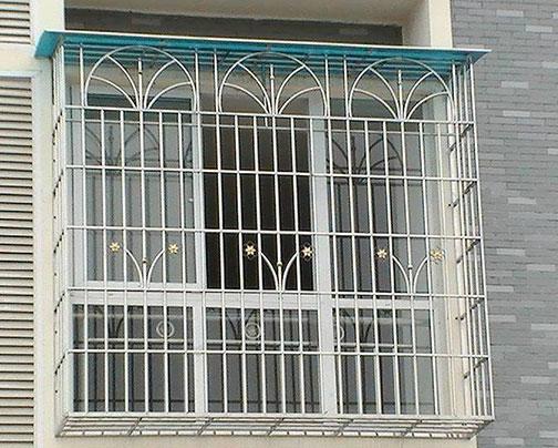 小區不銹鋼防盜窗案例